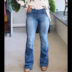 Denim - Plus Size Flare Jeans